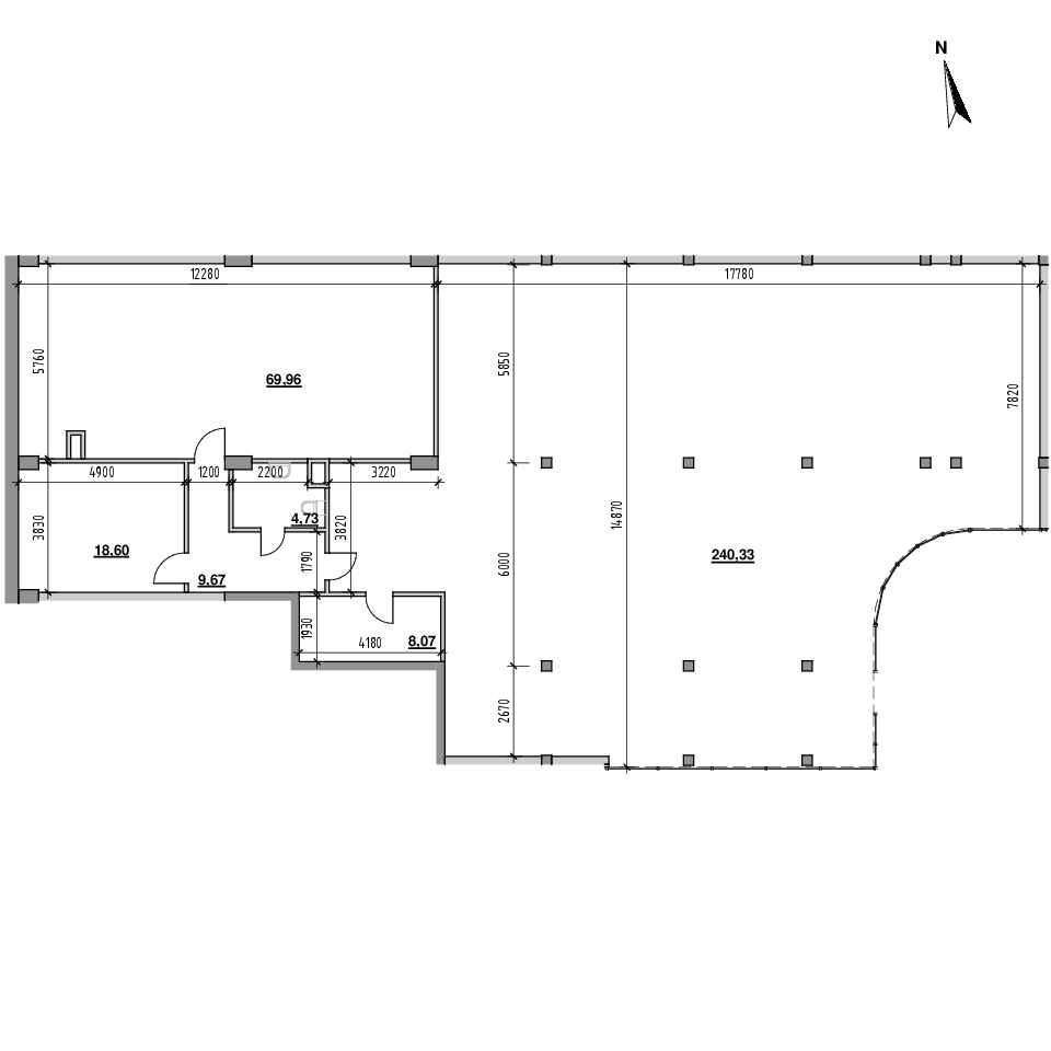 ЖК Велика Британія: планування приміщення площею 351.36 м<sup>2</sup>
