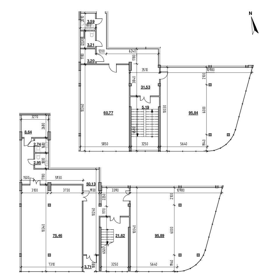 ЖК Велика Британія: планування приміщення площею 439.14 м<sup>2</sup>