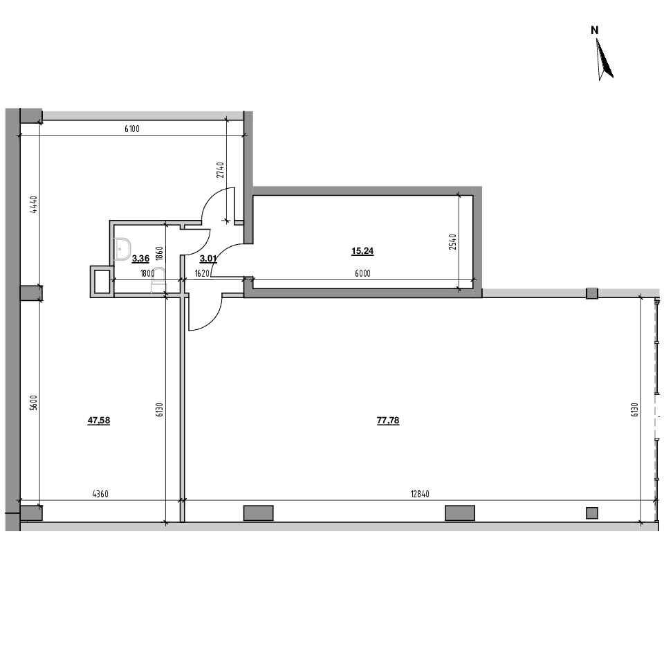 ЖК Велика Британія: планування приміщення площею 146.97 м<sup>2</sup>
