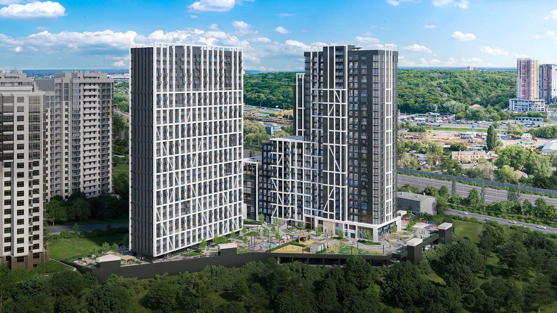 Рейтинг 3м2: ЖК Nordica Residence - у п'ятірці комплексів із високим рівнем безпеки мешканців