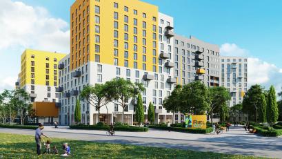 ЖК Riel Сity: будівництво активно триває