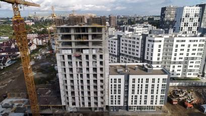 ЖК «Америка»: во второй секции дома К-1 выполняется возведение вертикальных элементов 15-го этажа
