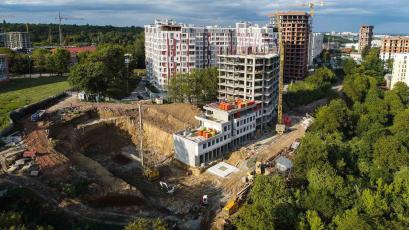 ЖК «Голоські Кручі»: будівництво активно триває