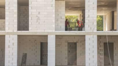 ЖК «Містечко Підзамче»: у комплексі «Новий Форт» триває кладка