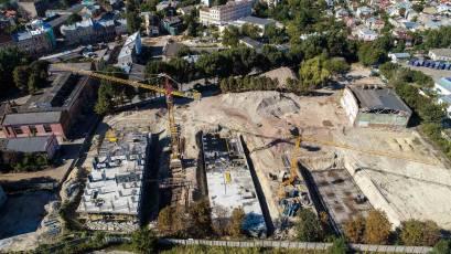 ЖК «Містечко Підзамче»: будівництво комплексу «Брама» триває за планом