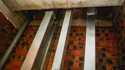 ЖК «Америка»: в першій секції будинку В-1 триває монтаж вентиляції