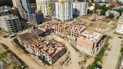 ЖК «Шенген»: будівництво усіх секцій триває за планом