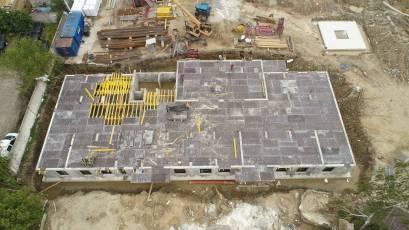 ЖК Riel City: в секції 4-Б триває влаштування цокольного поверху