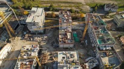 ЖК «Містечко Підзамче»: в другій черзі комплексу «Брама» завершено монолітні роботи