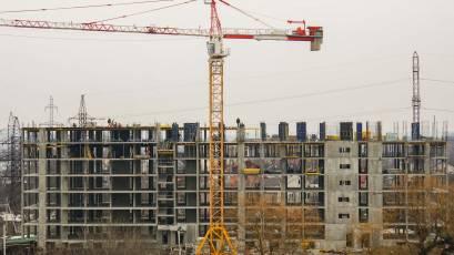 ЖК Riel City: в секції 5-Б четвертої черги залитий вертикал шостого поверху