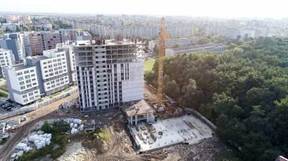 Зведення будинків К-2 і К-3 активно триває