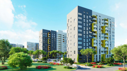 ЖК Riel City: стартував продаж квартир у 4 черзі комплексу
