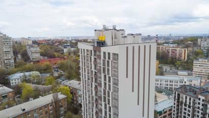 ЖК «Львівський Квартал»: у сьомій черзі завершуються фасадні роботи