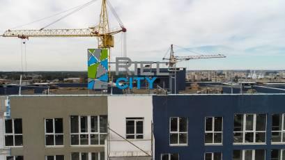 ЖК Riel Сity: будівництво першої черги активно триває