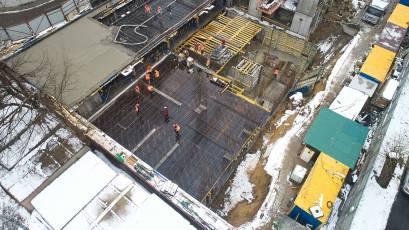 ЖК Forward: будівництво обох секцій активно триває