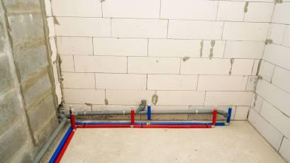 ЖК Riel Сity: в секції 5-В першої черги завершено влаштування мереж каналізації та води