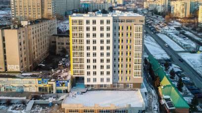ЖБ Topolis: завершено роботи на покрівлі будинку та паркінгу