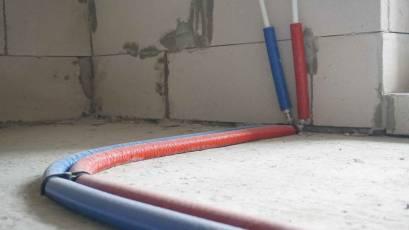 ЖК Riel City: в четвертій секції третьої черги завершено влаштування системи опалення