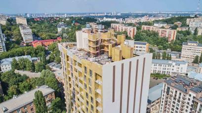 ЖК «Львівський квартал»: у будинку шостої черги розпочали монтаж обладнання газової котельні