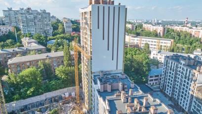 ЖК «Львівський квартал»: у будинку шостої черги завершуються фасадні роботи