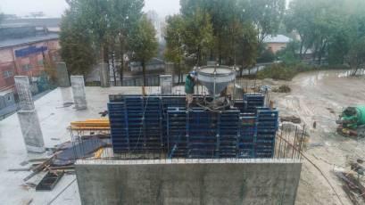 ЖК «Містечко Підзамче»: у комплексі «Брама» тривають монолітні роботи
