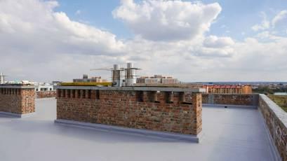 ЖК «Компаньйон»: в шостій секції завершено облаштування даху