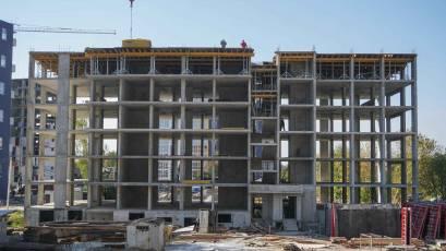 ЖК Riel City: в секції 4-Б четвертої черги завершено плиту перекриття шостого поверху