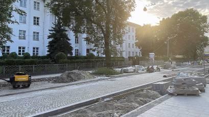 Реконструкция ул. Пекарской подходит к концу: что нового и что интересного на улице теперь