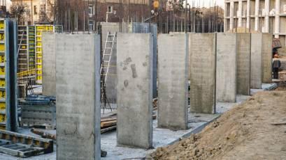 ЖК «Містечко Підзамче»: у третій черзі комплексу «Новий Форт» тривають монолітні роботи