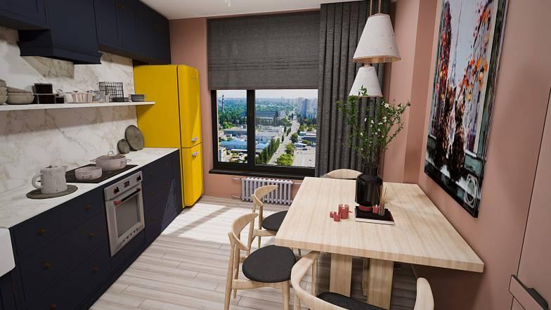 Квартира 1Ж — 47,79 кв.м