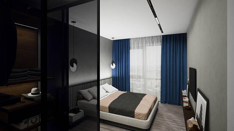 Квартира 1Д — 43,77 кв.м