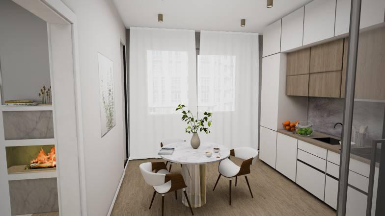 Квартира 3А - 70,65 кв.м