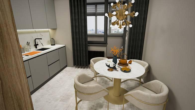 Квартира 1В — 40,96 кв.м