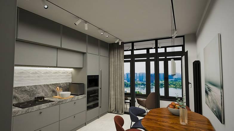 Квартира 2В — 75,27 кв.м